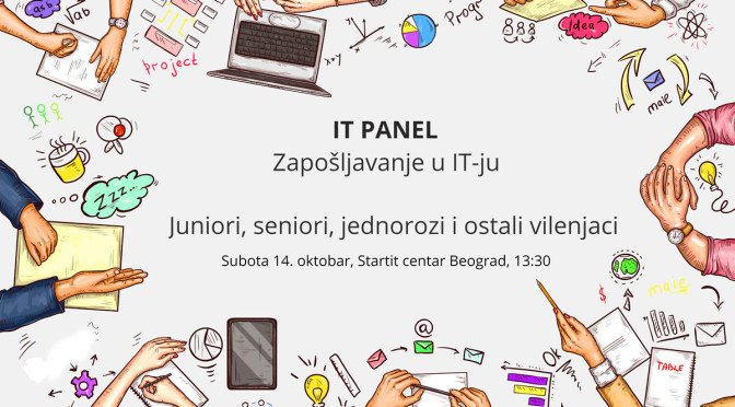 IT čajanka – panel o zapošljavanju u IT-ju