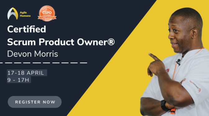 Certified Scrum Product Owner trening 17 i 18. aprila